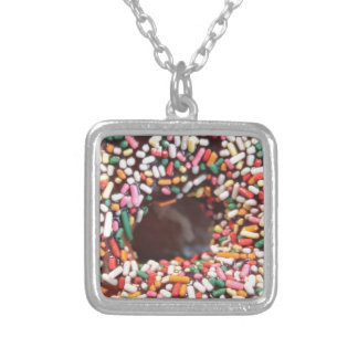 SPRINKLES! SQUARE PENDANT NECKLACE