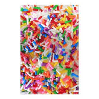 Sprinkles! Personalized Stationery