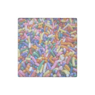 Sprinkles Stone Magnet