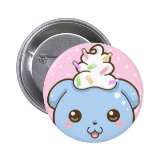 """Sprinkles the Bear Standard 2.25"""" Round Button"""
