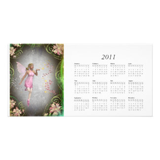 Sprinkling a little fairy dust... calender 2011 card