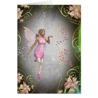 Sprinkling a little fairy dust... card