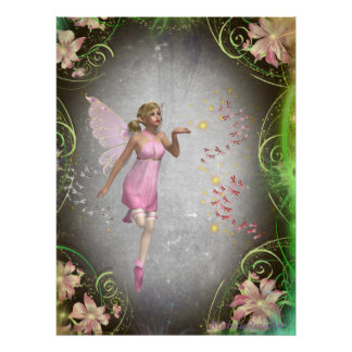 Sprinkling a little fairy dust... poster