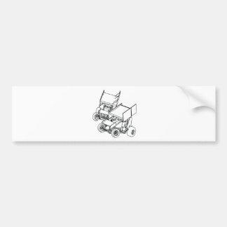 sprint6-6 [Converted].ai Bumper Sticker