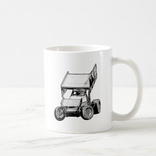 Sprint Car 1 Classic White Coffee Mug