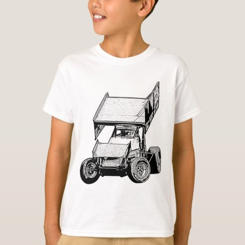 Sprint Car 1 T_Shirt