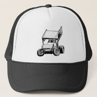 Sprint Car 1 Trucker Hat