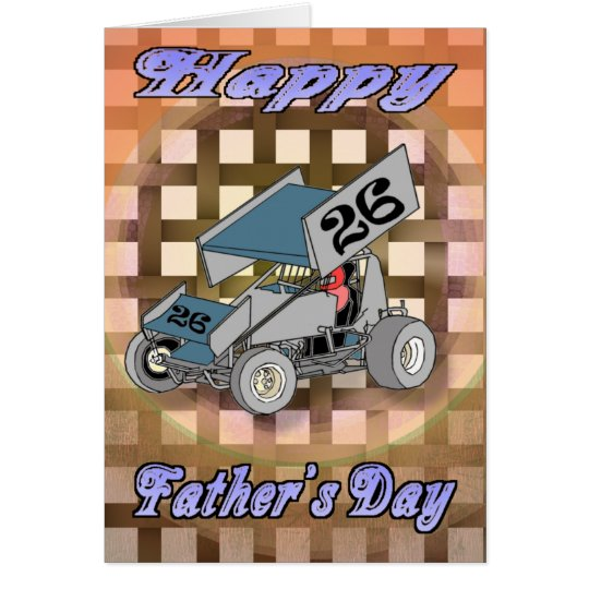 Sprint Car Card