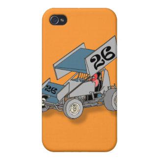 Sprint Car iPhone 4 Cases