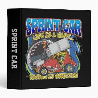 Sprint Car Life 3 Ring Binder
