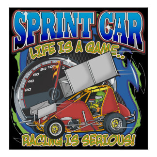 Sprint Car Life Posters