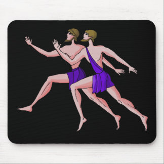 Sprint Runner Mouse Pad