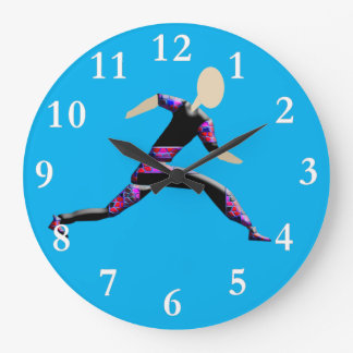 Sprint Runner Wall Clock