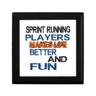 Sprint Running Players Makes Life Better And Fun Gift Boxes