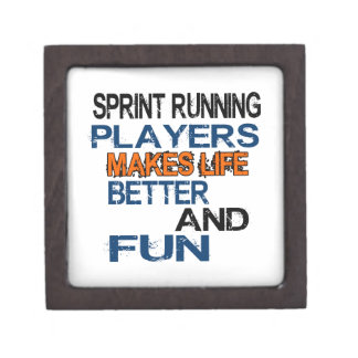 Sprint Running Players Makes Life Better And Fun Premium Gift Box