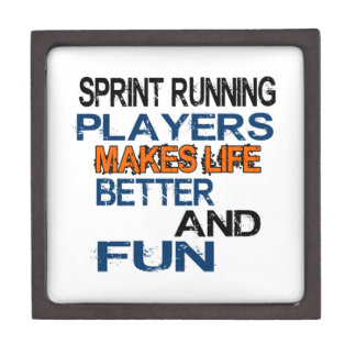 Sprint Running Players Makes Life Better And Fun Premium Gift Boxes
