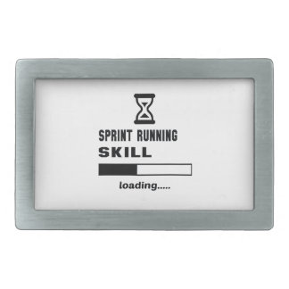 Sprint Running skill Loading...... Belt Buckle