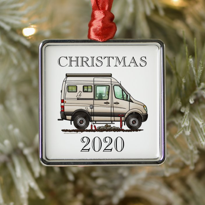 Personalized Ornament Camper Ornament Happy Camper 2019 Ornament 2019 Christmas Ornament Pewter Ornament Family Keepsake Ornament