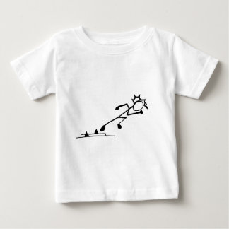 Sprinter Stickman Track and Field Shirt