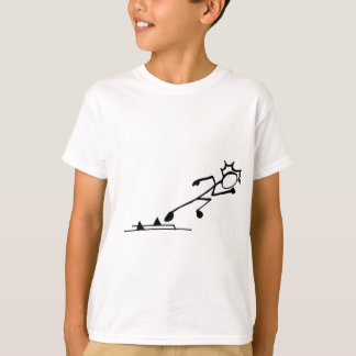 Sprinter Stickman Track and Field T-Shirt