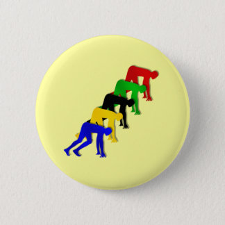 Sprinters on your marks get set go sprinting button