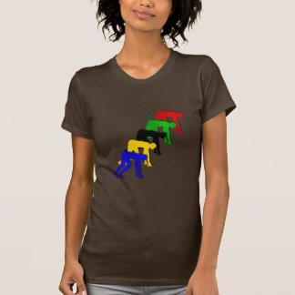 Sprinters on your marks get set go sprinting T-Shirt