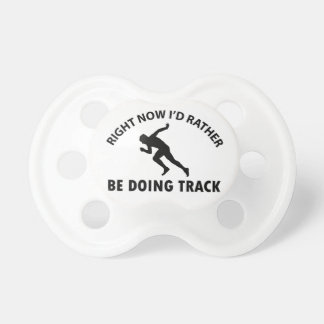sprinting designs baby pacifiers