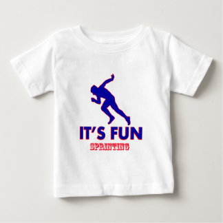 sprinting designs tee shirt