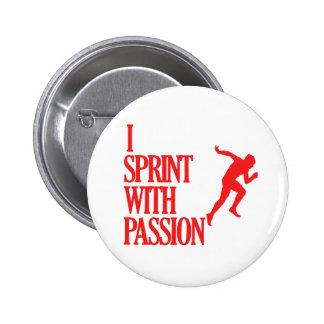 SPRINTING sports designs Pins