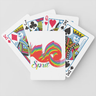 sprit bicycle playing cards