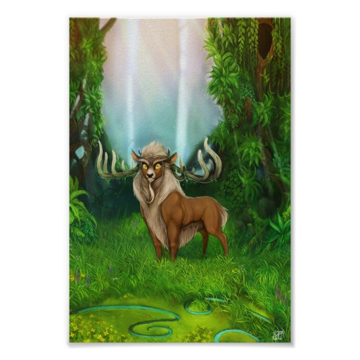 Sprit of the Woodland Glade Poster