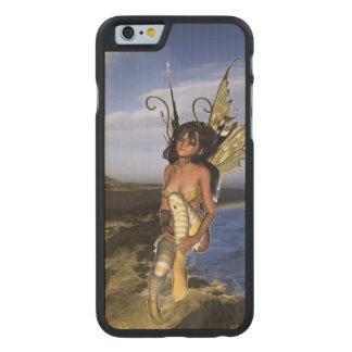 Sprite Contemplation Carved® Maple iPhone 6 Case