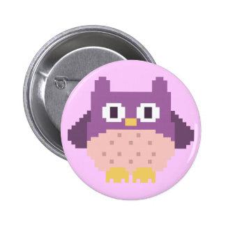 Sprite de 8 bits del búho del pixel pin