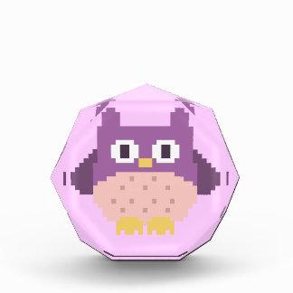 Sprite de 8 bits del búho del pixel