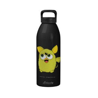 Sprite Furby amarillo Botella De Agua Reutilizable
