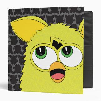 """Sprite Furby amarillo Carpeta 1 1/2"""""""