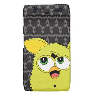 Sprite Furby amarillo Motorola Droid RAZR Funda