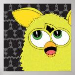 Sprite Furby amarillo Póster