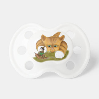 Sprite rides a Snail Past Kitty Pacifier