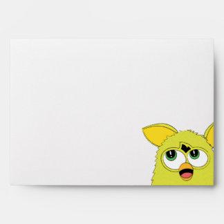 Sprite Yellow Furby Envelope