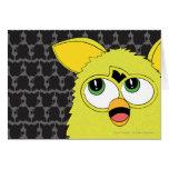 Sprite Yellow Furby Greeting Card