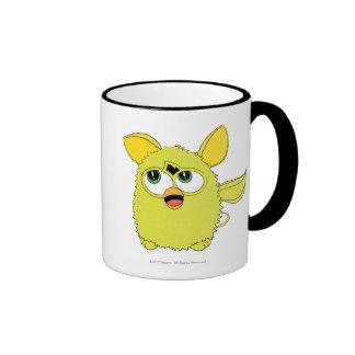 Sprite Yellow Furby Ringer Coffee Mug