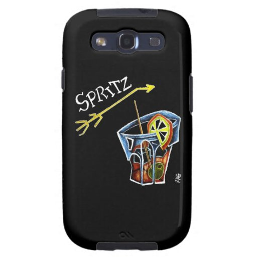Spritz Aperol Accessories and Gifts - Venice Italy Galaxy S3 Cover