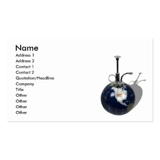 SpritzOfHumanity090810, Name, Address 1, Addres... Double-Sided Standard Business Cards (Pack Of 100)