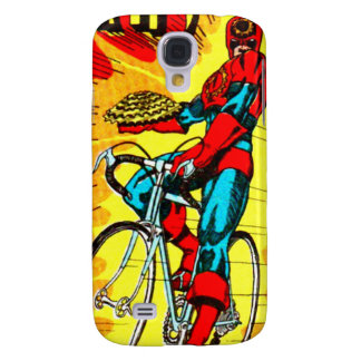 Sprocket Man - Cycling Bicycle Superhero Galaxy S4 Covers