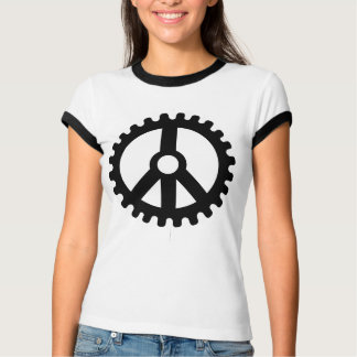 Sprocket of Peace-Ladies T-Shirt