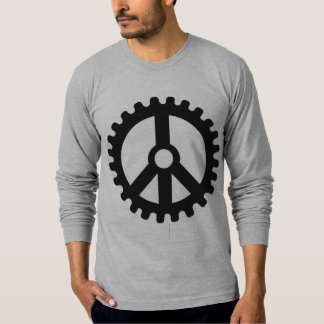 Sprocket of Peace-Long Sleeved T-Shirt