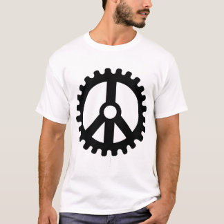 Sprocket of Peace-T-Shirt T-Shirt