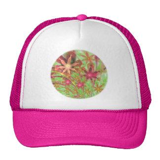 Sproingy Spring Flowers Fractal Art Trucker Hat