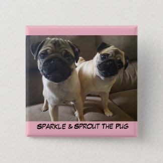 Sprout and Sparkle on a Button